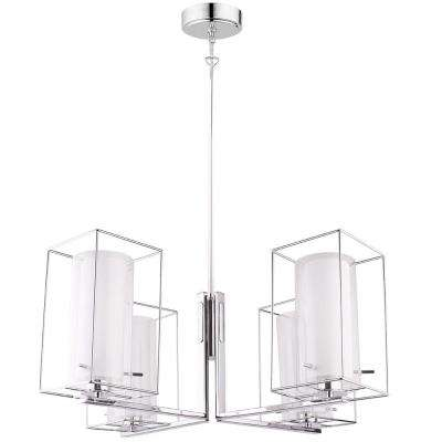 Loncino 1 4-Light Chrome Chandelier