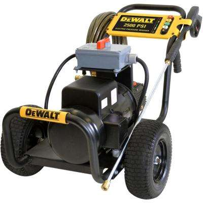 2500 PSI 3.5 GPM Electric Pressure Washer with Baldor Motor and General Pump