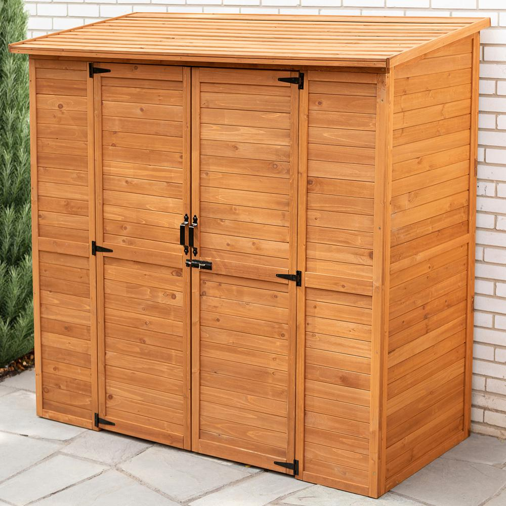 Leisure Season 6 ft. 3 in. x 3 ft. 1 in. 6 ft. 1 in. Cypress Extra Large Storage Shed