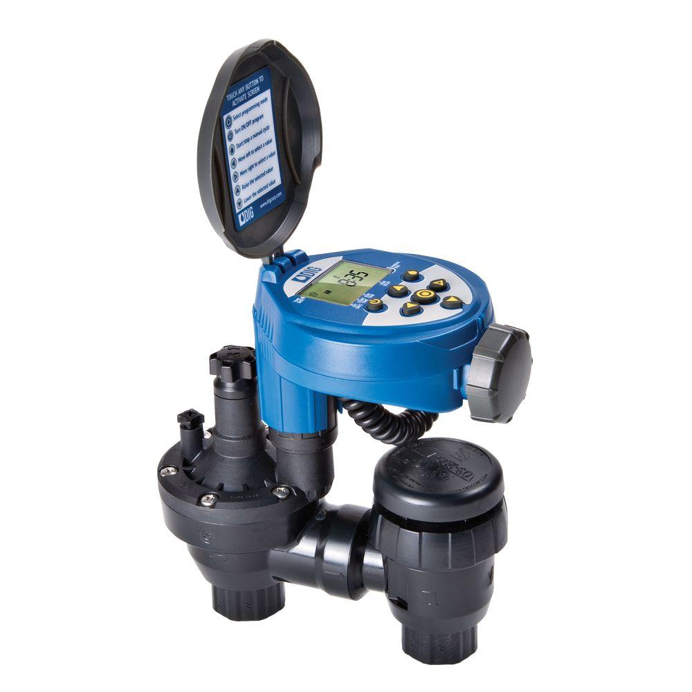 Dig 3/4 in. Digital Timer with Anti-Siphon Valve