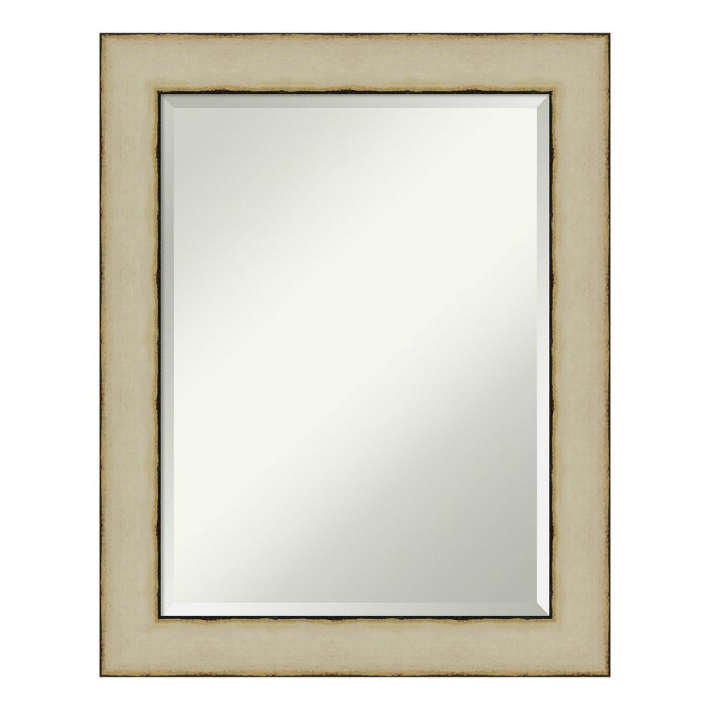 Amanti Art Rusted Cream Decorative Wall Mirror was $221.0 now $129.94 (41.0% off)