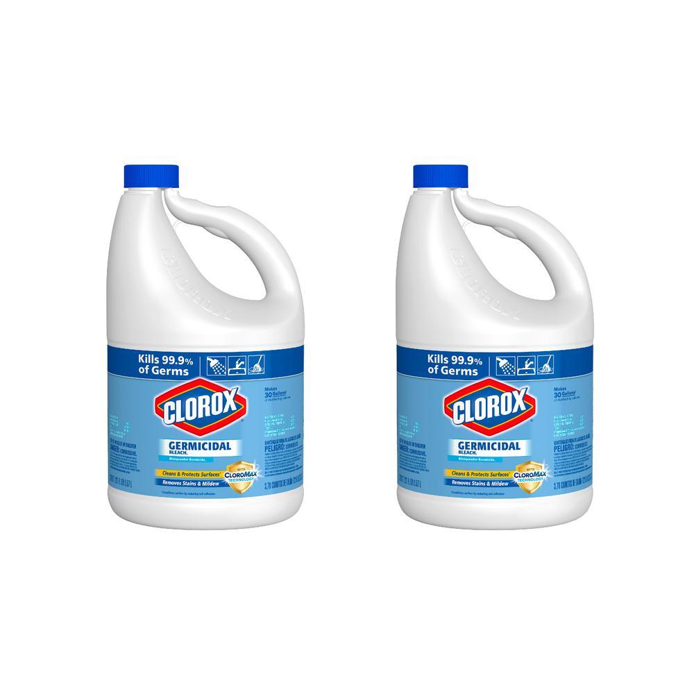 Clorox 64 oz  Fresh Meadow Concentrated Liquid Bleach