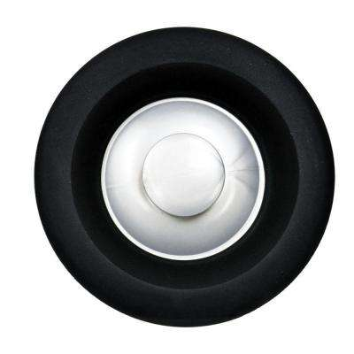 Garbage Disposal Stopper in Black