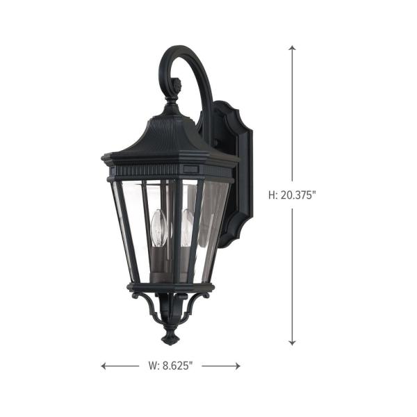light up wall deor.htm feiss cotswold lane 2 light black outdoor 20 5 in wall lantern  feiss cotswold lane 2 light black