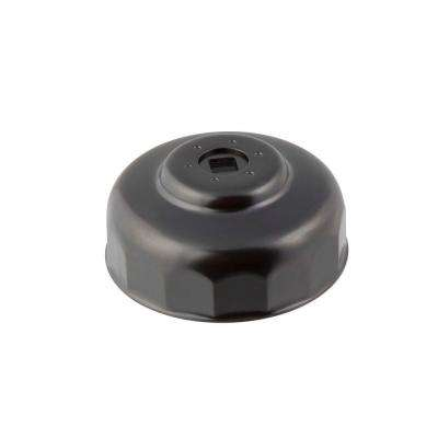 88 mm x 15 Flute Oil Filter Cap Wrench for Hyundai in Black