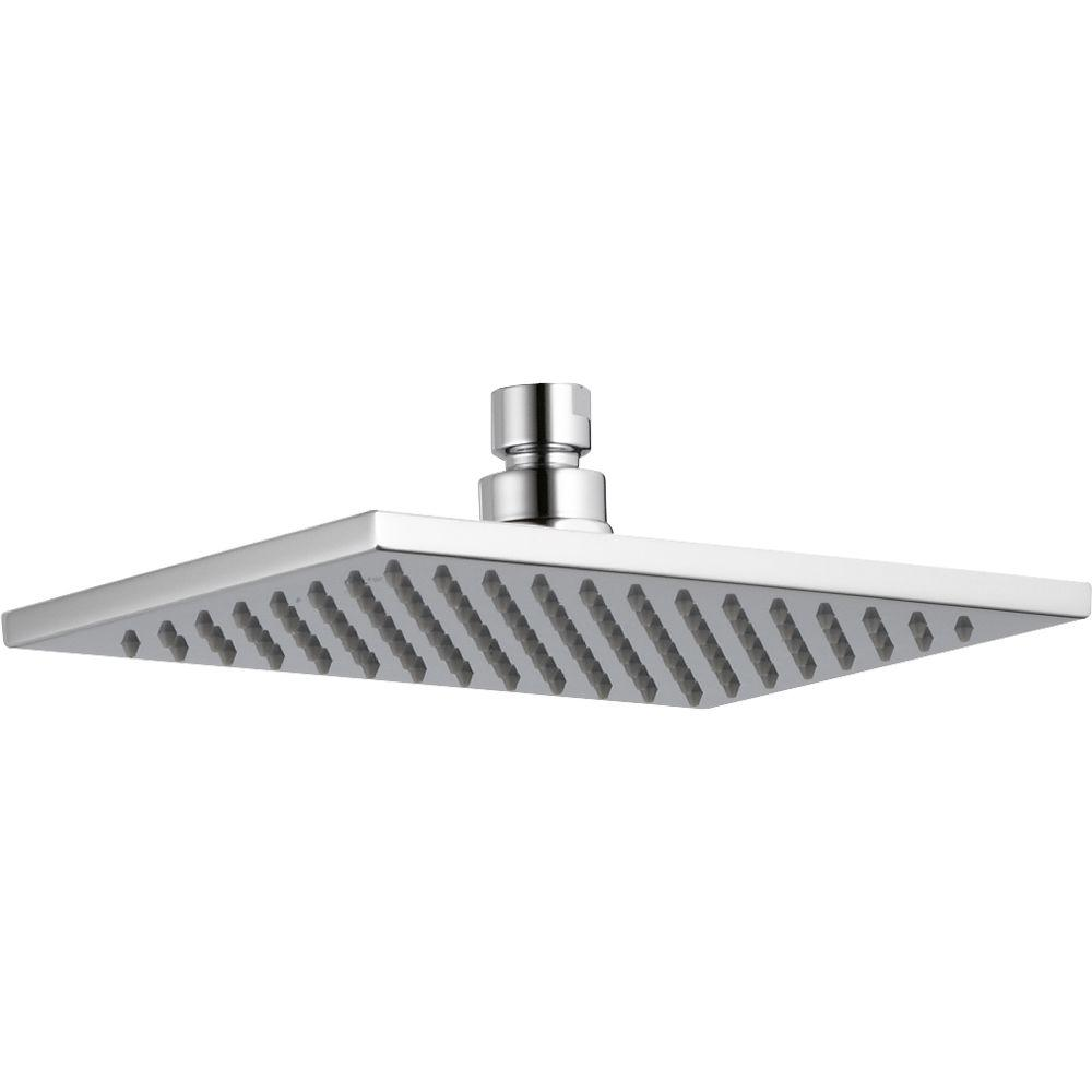 Delta Vero 1-Spray 2.5 GPM 8-5/8 in. Raincan Shower Head in Chrome ...