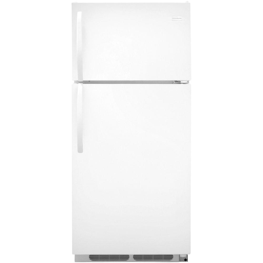 Frigidaire 16 cu. ft. Top Freezer Refrigerator in White