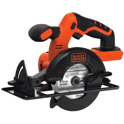 20-Volt MAX Lithium-Ion Cordless 5-1/2 in. Circular Saw (Tool-Only)