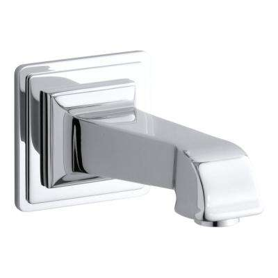 Pinstripe Wall-Mount Bath Spout in Polished Chrome