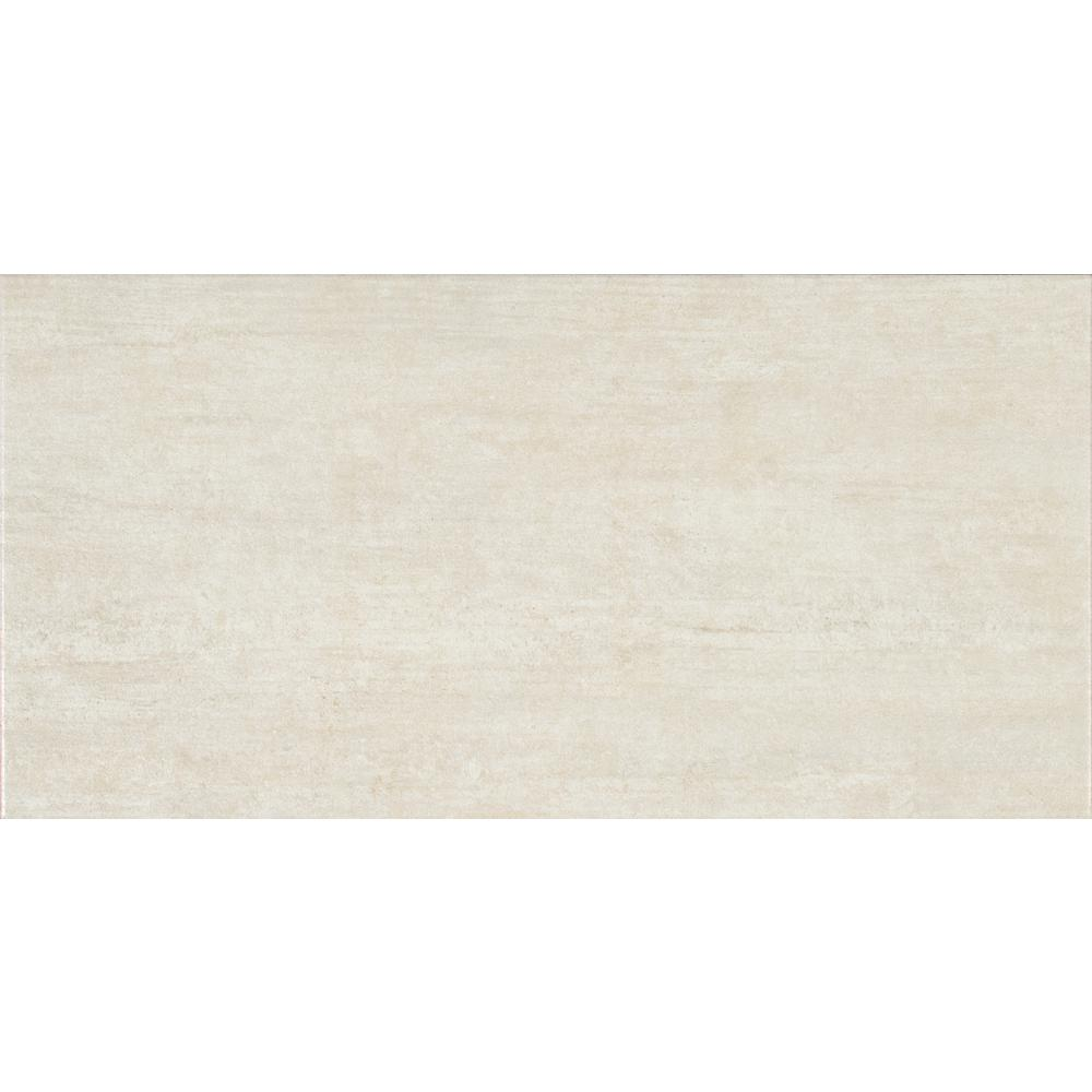 Metropolis Avorio 12 in. x 24 in. Glazed Porcelain Floor and