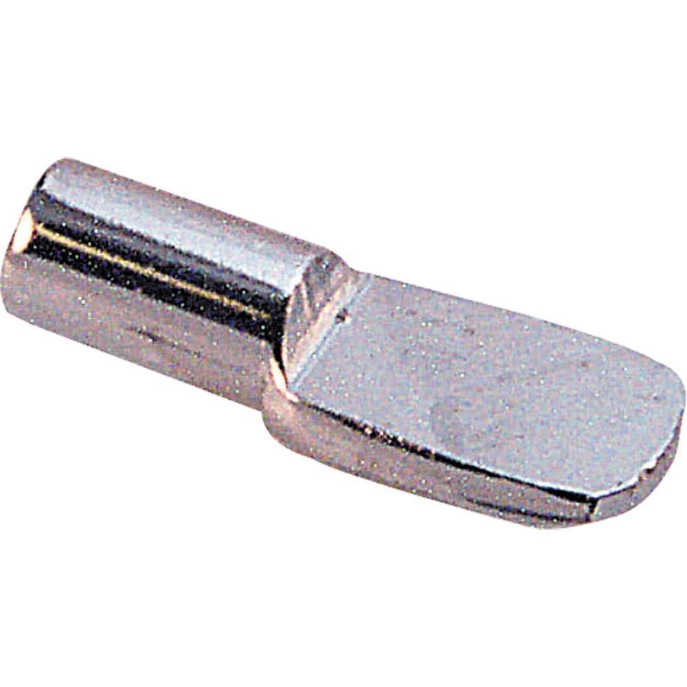 Prime Line 7 Mm Nickel Plated Metal Shelf Support Peg 8 Pack