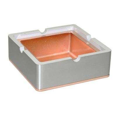 Hatter Square Metal Cigarette Ashtray