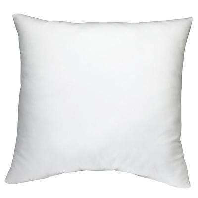 White Sterilized Feather Down Extra Fluff and Durable Pillow Insert (Set of 2)