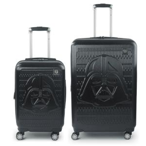 Deals on Star Wars Darth Vader Embossed 29-in and 21-in 2-Pcs Luggage Set
