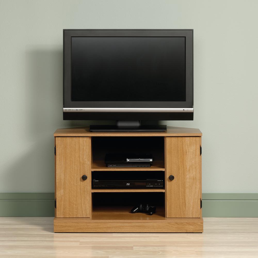 Corner Unit Tv Stands Living Room Furniture The Home Depot
