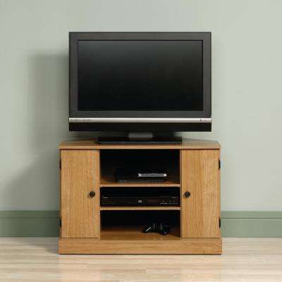 Beginnings Highland Oak Storage Entertainment Center