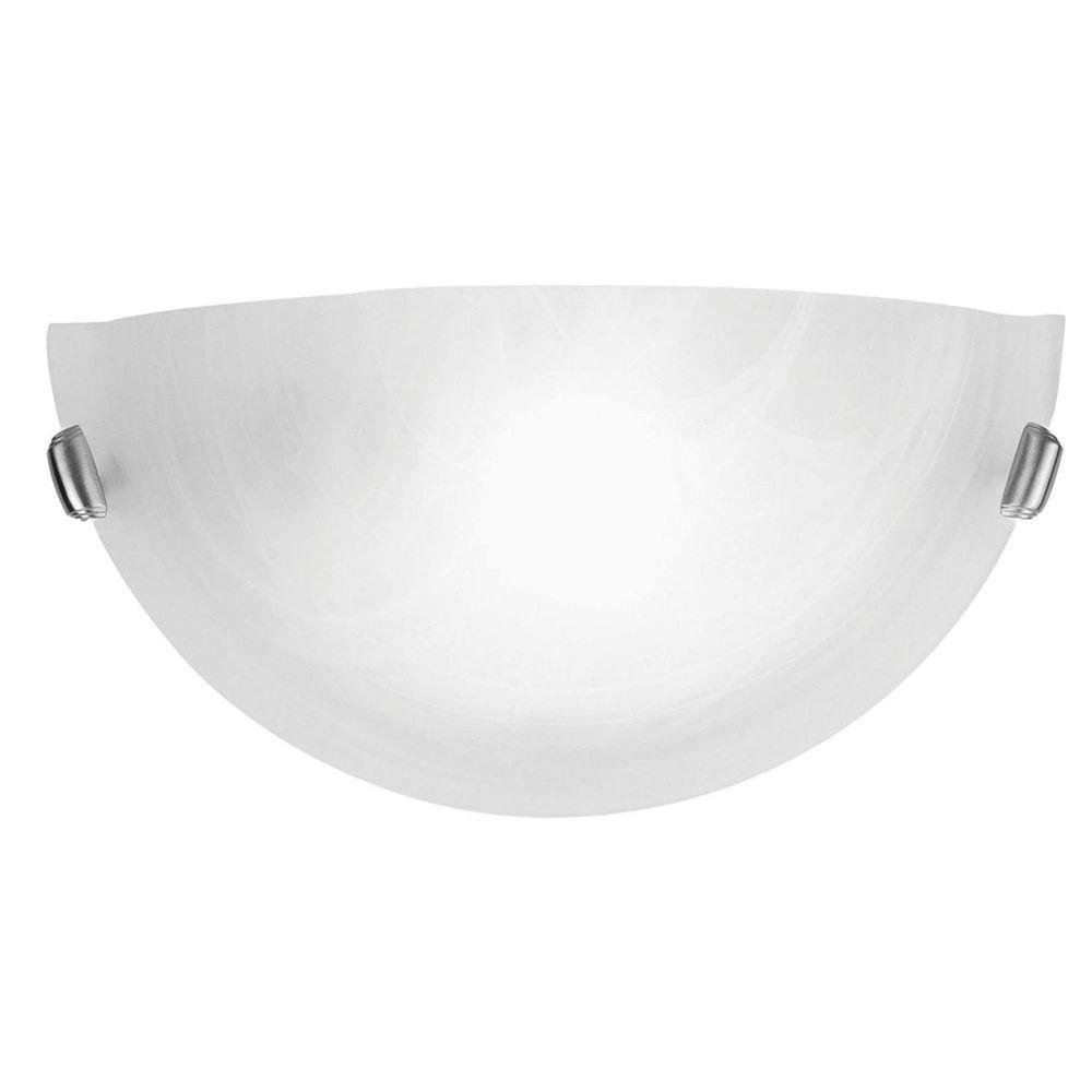 Providence 1 Light Brushed Nickel Incandescent Wall Sconce
