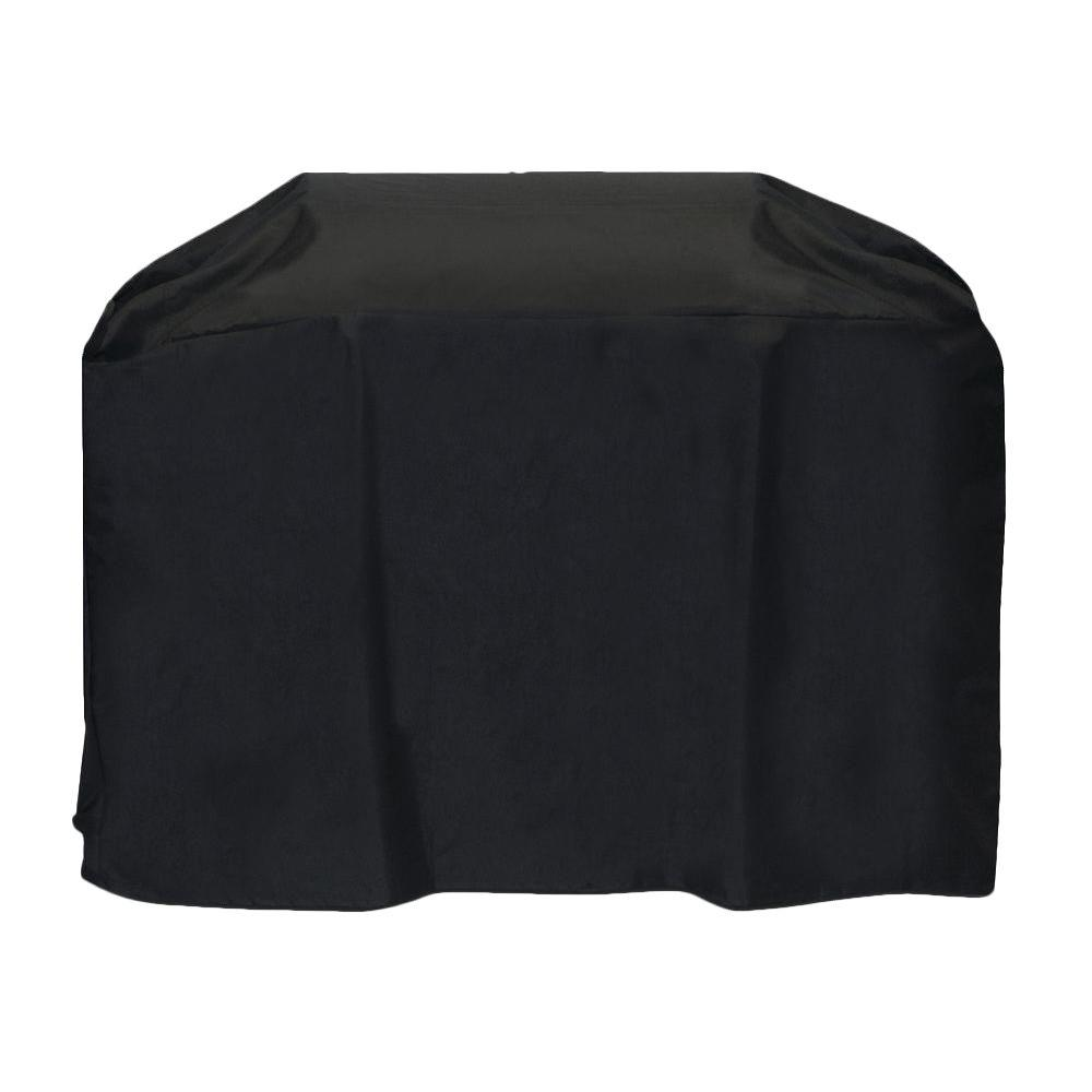 Two Dogs Designs 72 in. Cart Style Grill Cover in Black