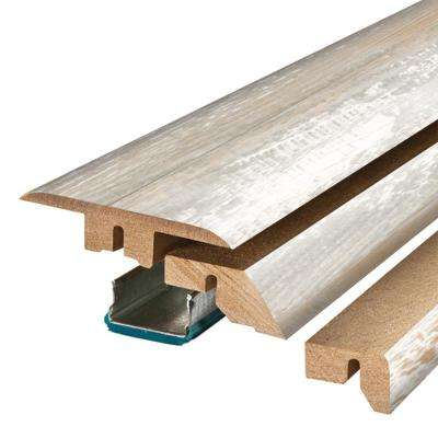Coastal Pine 3/4 in. Thick x 2-1/8 in. Wide x 78-3/4 in. Length Laminate 4-in-1 Molding