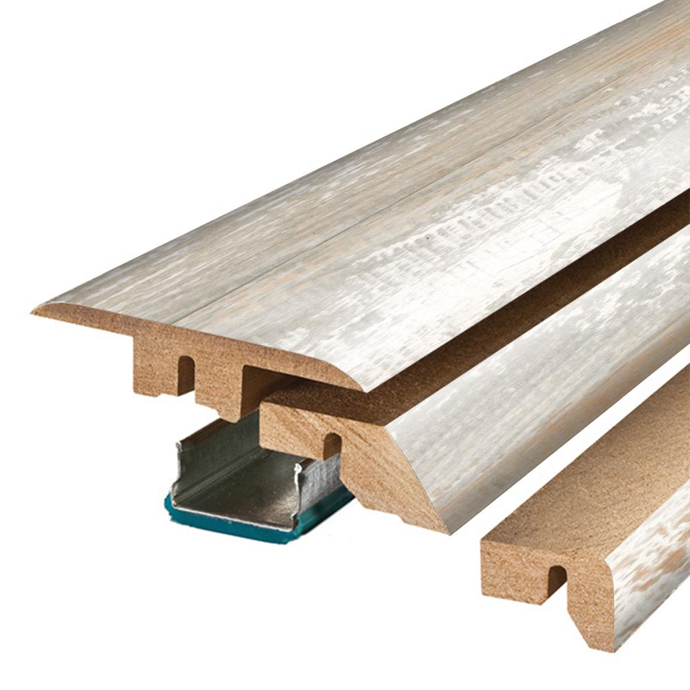 Pergo Coastal Pine 3/4 in. Thick x 2-1/8 in. Wide x 78-3/4 in. Length Laminate 4-in-1 Molding
