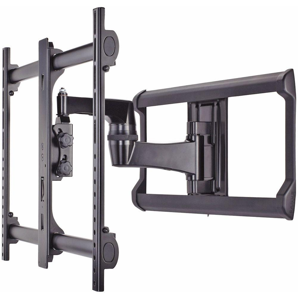 sanus 37 in 56 in full motion wall mount vlf220 b1 the home depot. Black Bedroom Furniture Sets. Home Design Ideas