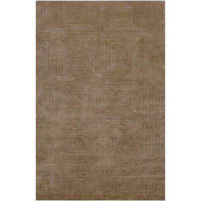 Candice Olson Olive 5 ft. x 8 ft. Area Rug