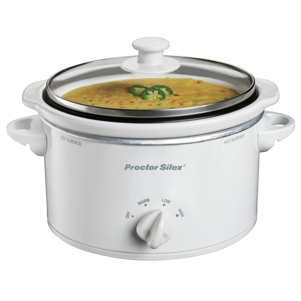 Proctor Silex 1.5 qt. Oval Slow Cooker-DISCONTINUED