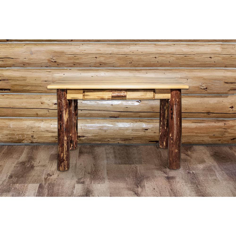 Montana Woodworks Glacier Puritan Pine Desk