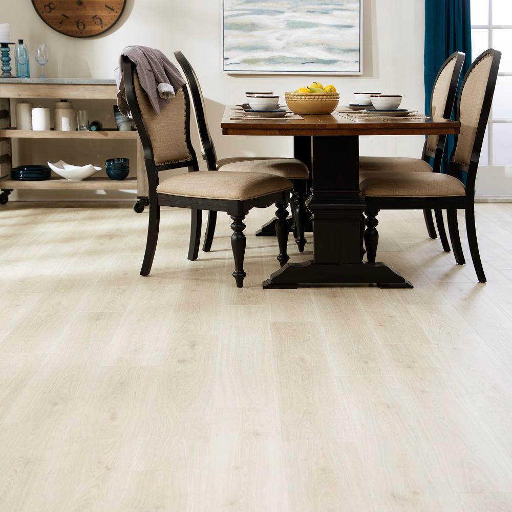 Outlast+ Waterproof Sunbaked Sand Oak 10 mm T x 7.48 in. W x 47.24 in. L Laminate Flooring (19.63 sq. ft. / case)