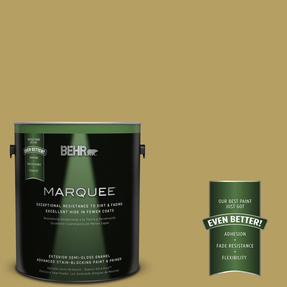 BEHR MARQUEE Home Decorators Collection 1-gal. #HDC-CL-19 Apple Wine Semi-Gloss Enamel Exterior Paint