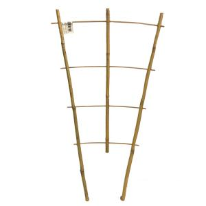 24 inch H Bamboo ladder Trellis, Set of 3 by