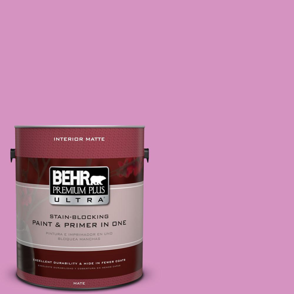 1 gal. #680B-4 Pressed Flower Flat/Matte Interior Paint