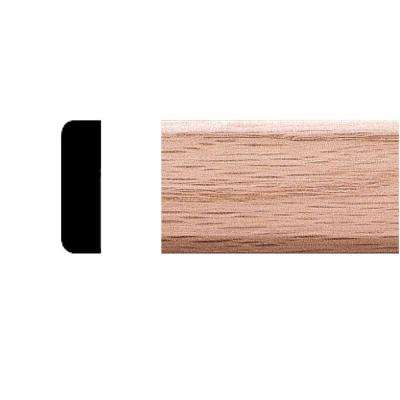 3/8 in. x 1-1/4 in. x 7 ft. Oak Stop/Mullian Moulding