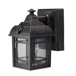 Light It! Antique Bronze Craftsmen Integrated LED Porch Light by Light It!