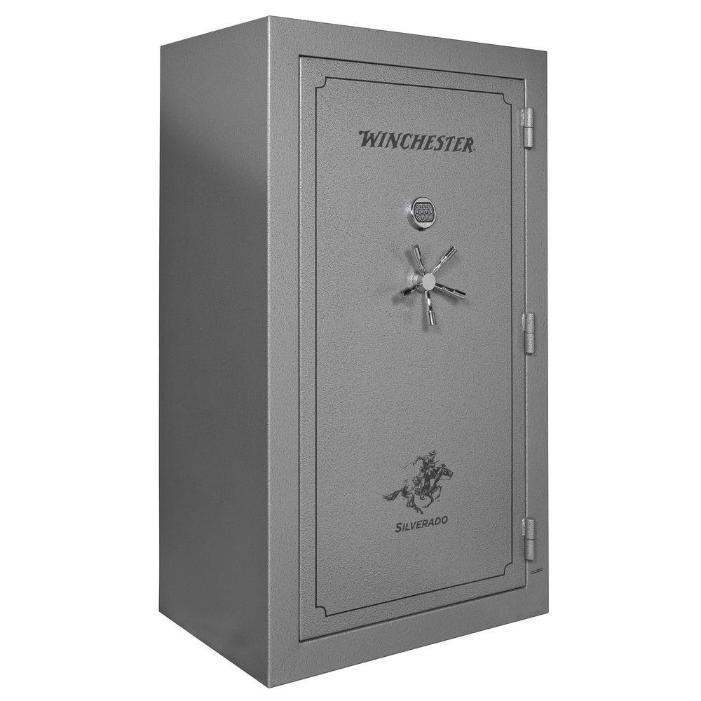 Winchester Safes Silverado 51 Gun Electronic Lock UL Listed 72 in. Hx42 in. Wx30 in. D Gun Safe with 1.5 in. Locking Bolts-DISCONTINUED