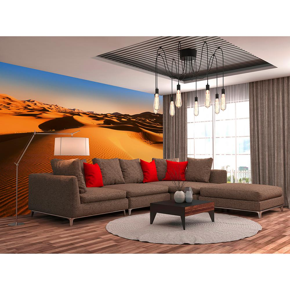 Home Depot Decorations: Ideal Decor Desert Landscape Scenic Landscapes Wall Mural