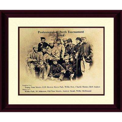 14.87.in x 17.87.in''Professionals at Perth 1864'' By PTM Images Framed Printed Wall Art