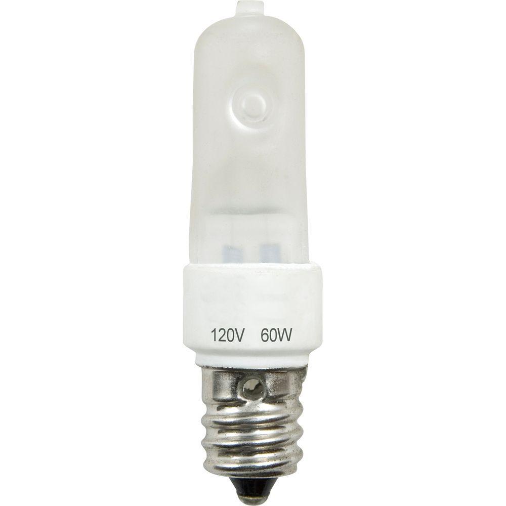 60-Watt Incandescent E12 Krypton Light Bulb