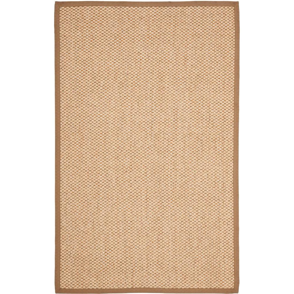 Natural Fiber Beige 8 ft. x 11 ft. Area Rug