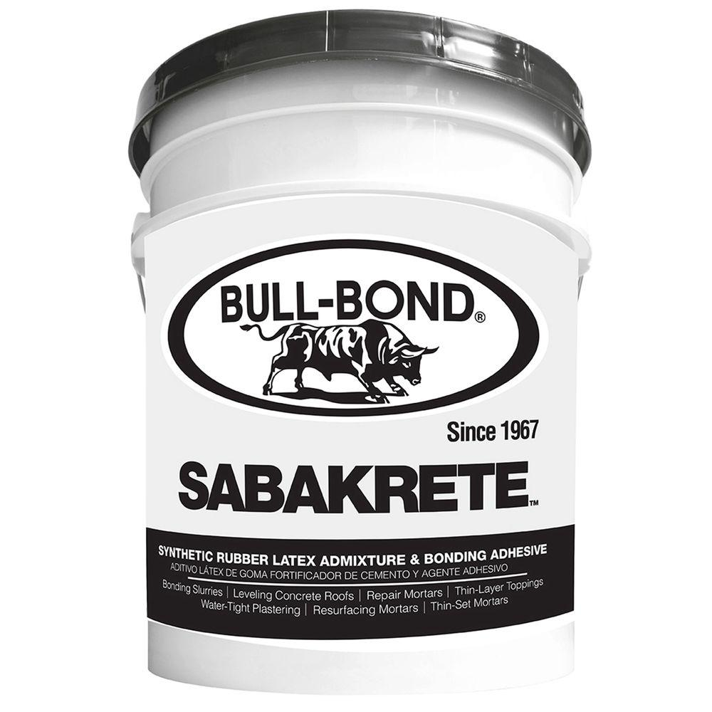 Sabakrete 5 Gal. Synthetic Rubber Latex Admixture and Bonding Agent