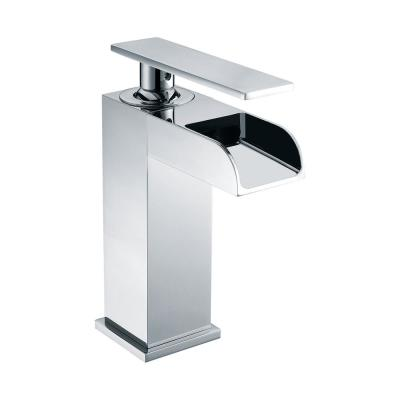 AB1598-PC Single Hole Single-Handle Bathroom Faucet in Polished Chrome