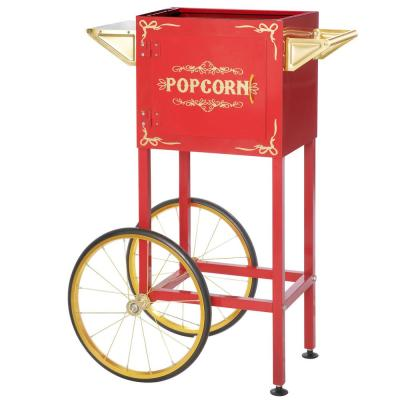 4 oz. - 8 oz. Red Popcorn Machine Replacement Stand / Cart