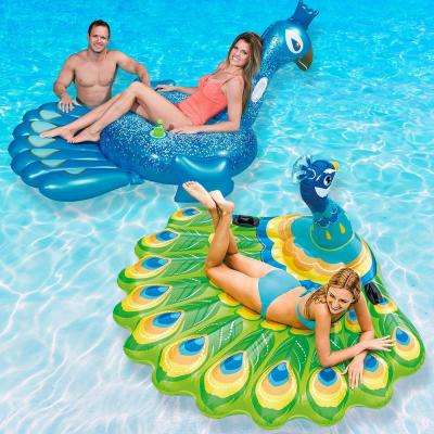 Peacock Pool Float Combo Value Pack