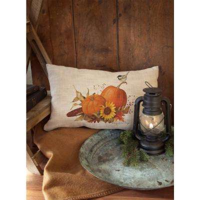 Harvest Pumpkin Natural Harvest Decorative Pillow
