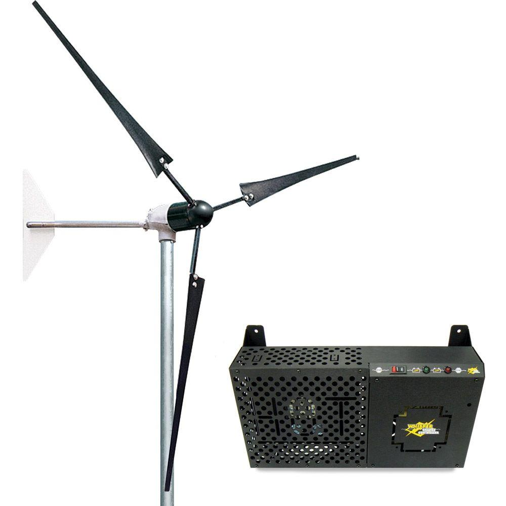Southwest Windpower Whisper 200 Wind Turbine - High Voltage Land with Controller-DISCONTINUED