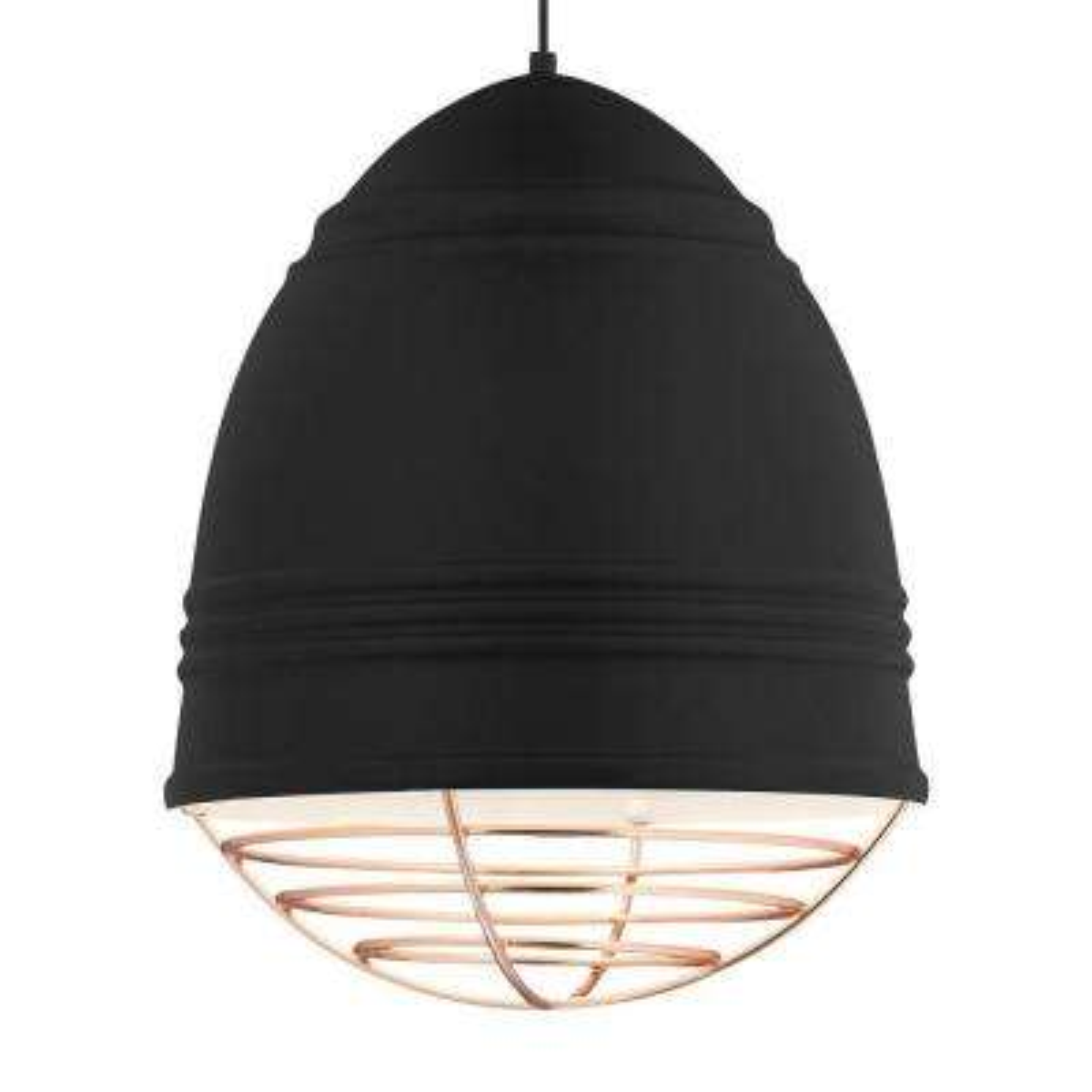 Loft Grande 3-Light Black LED Line-Voltage Pendant
