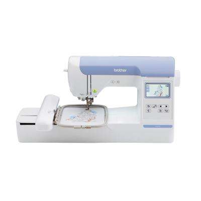 Embroidery Machine with Large Color LCD Touch Screen