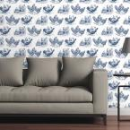 CGSignLab Chickens by Circle Art Group Removable Wallpaper Panel
