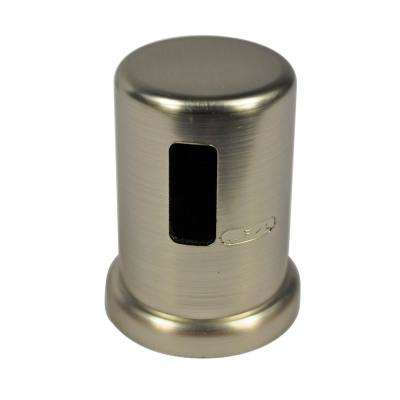 2 in. O.D. Kitchen Air Gap Cap in Brushed Nickel
