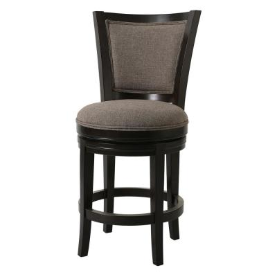 Bailey 39 in. H Brown Counter Height Swivel Stool